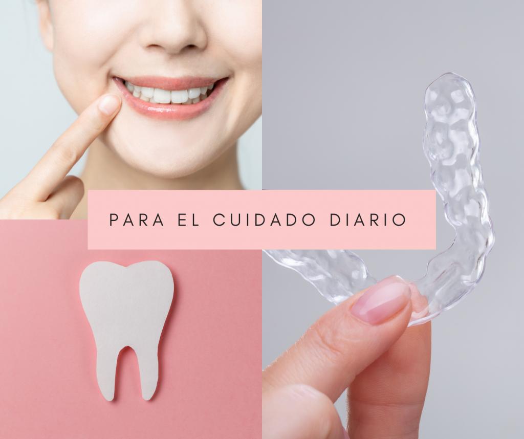 como cuidar y limpiar tu ferula dental